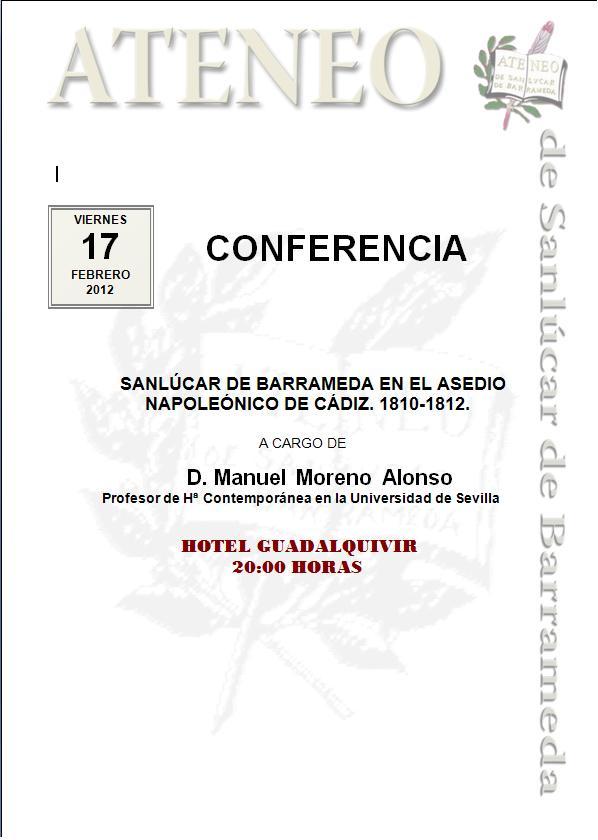 <b>Conferencia</b>