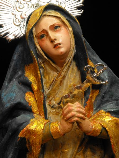 <b>Hallan una Dolorosa en Regina Coeli que podía ser obra del escultor sevillano Cristóbal Ramos.</b>