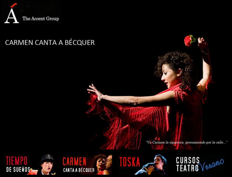 <b><i>Carmen canta a Bécquer</i> & The Accent Group.</b>
