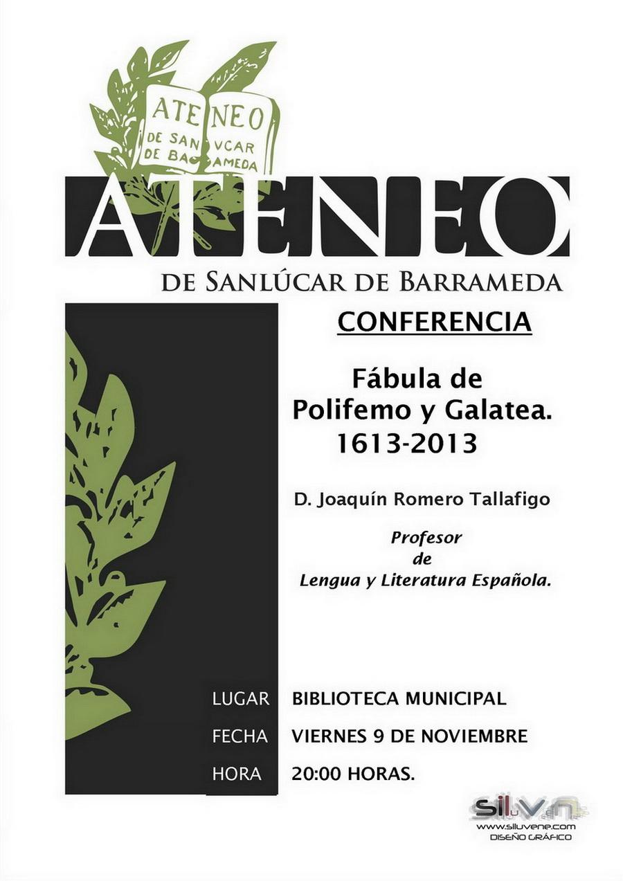 <b>Conferencia sobre Luis de Góngora</b>